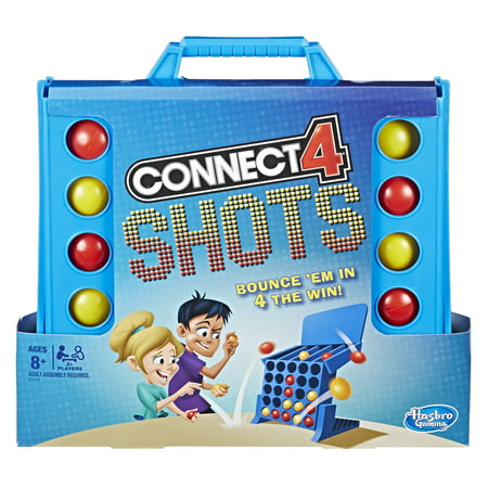 Connect 4 Shots Activity Game, Game for kids Ages 8 and up - Games For 8 Year Old