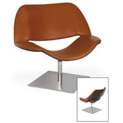 Lips Chair in Brown
