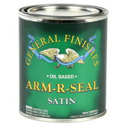 General Finishes, ARM-R-SEAL, Satin, Pint