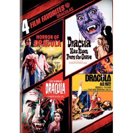 4 Film Favorites: Draculas (DVD)