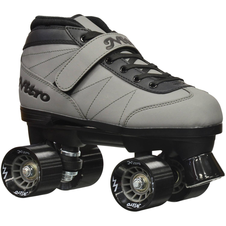 Epic Nitro Turbo Gray Quad Speed Roller Skates by Epic Skates