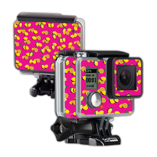 Skin For GoPro Hero – Make Lemonade | MightySkins Protective, Durable, and Unique Vinyl Decal wrap cover | Easy To Apply, Remove, and Change Styles | Made in the USA
