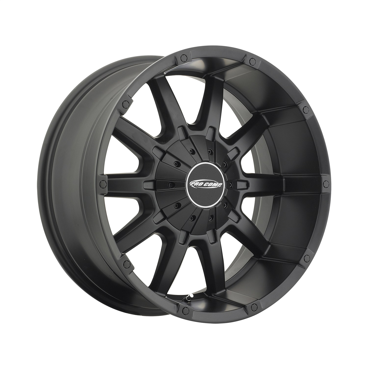 Pro Comp Alloy 5050-297045 Xtreme Alloys Series 5050 Black Finish