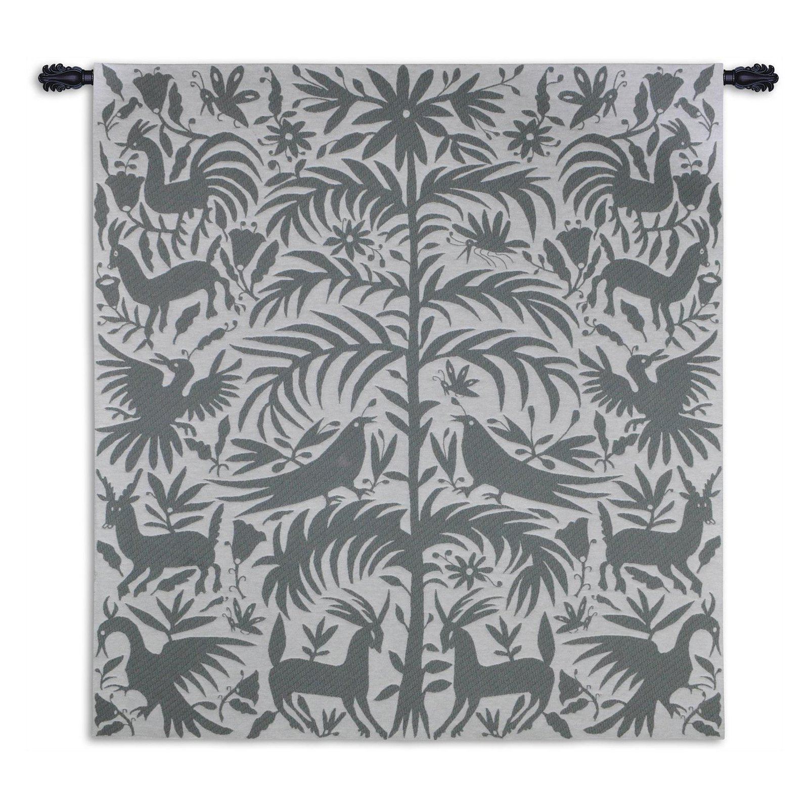 Fine Art Tapestries Otomi Platinum Wall Tapestry by Supplier Generic
