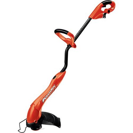 decker electric grass trimmer edger hog amp string inch gh600 walmart grasshog lawn bush tools power popscreen engine outside
