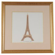 Old Modern Handicrafts Paris La Tour Eiffel by Billy Jacobs Framed Graphic Art