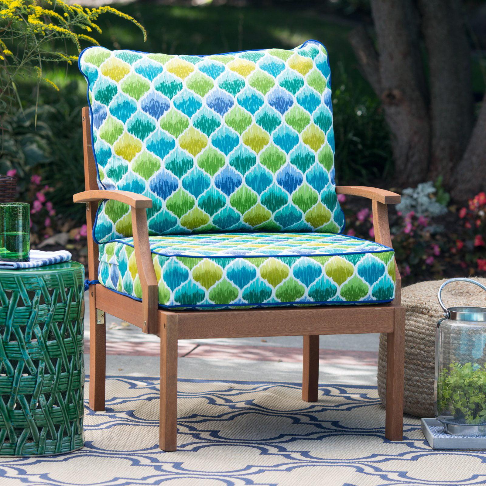 Coral Coast Curious Tropical Bird Deep Seat & Back Outdoor Cushion Set by Greendale Home Fashions LLC