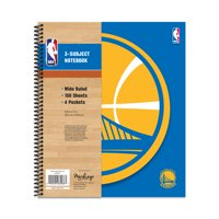 GOLDEN STATE WARRIORS CLASSIC 3-SUBJECT NOTEBOOK