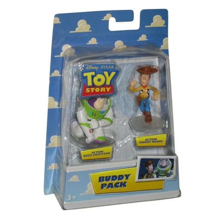 Disney Pixar Toy Story Buzz Lightyear & Woody Buddy Pack Figure - Woody Lightyear