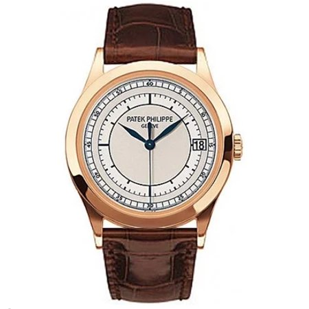 Pre-Owned Patek Philippe Calatrava 5296R-00 Gold  Watch (Certified Authentic & -