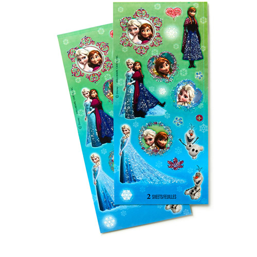 Hallmark Party Disney Frozen Sticker Sheets
