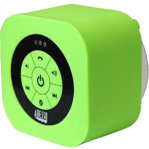 Adesso XtreamS1 Waterproof Bluetooth Speaker, Green