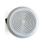 Bathroom Exhaust Fans - Circular bathroom exhaust fan