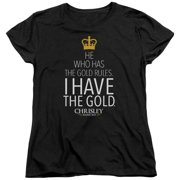Chrisley Knows Best Gold Womens Short Sleeve Shirt