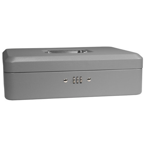12-Inch Cash Box with Combination Lock