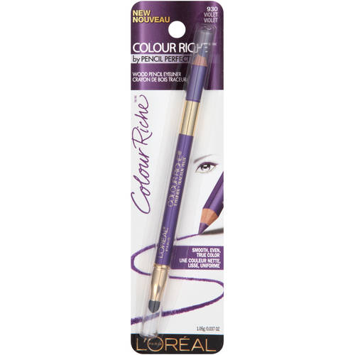 L'Oreal Paris Colour Riche by Pencil Perfect Wood Pencil Eyeliner, 930 Violet