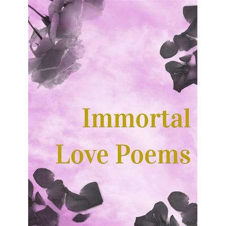 Immortal Love Poems - eBook