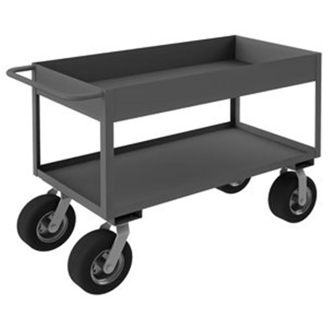 Durham RSC6-243636-2-10SPN-95 36 in. Rolling Service Cart, Gray - 1200 lbs