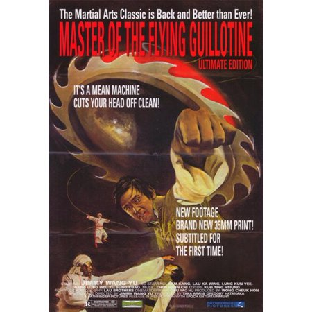 Master of the Flying Guillotine Movie Poster (11 x 17)