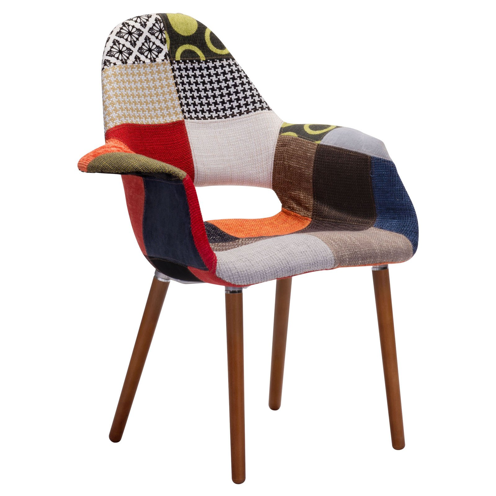 Moshe Occasional Chair Multicolor (Set of 2)