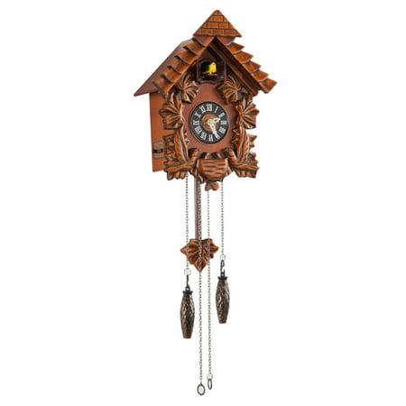 - Traditional Wooden Cuckoo Clock