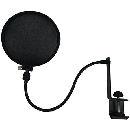 Nady SPF-1 Mic Pop Filter Accs With Boom & Stand Clamp ()