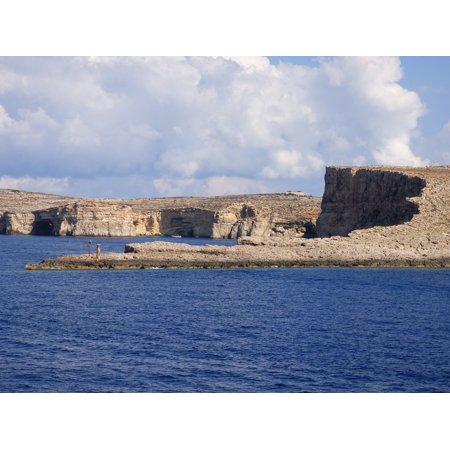 LAMINATED POSTERCoast Scene Comino Malta Sea View Mediterranean Poster Print 24 x 36