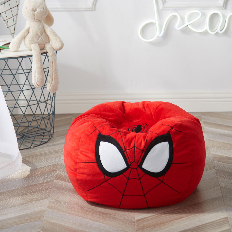Marvel Spiderman Figural Bean Bag Chair