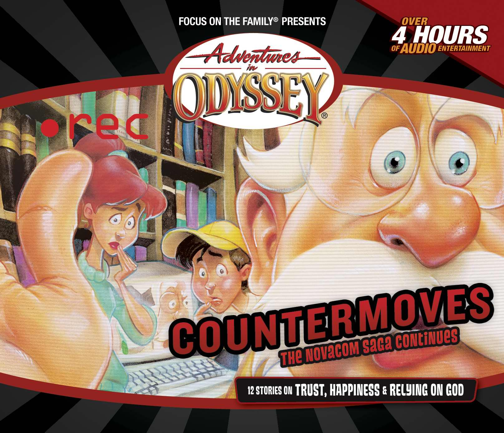 Audio CD-Adventures In Odyssey V37: Countermoves (Repack) (4CD) by FOCUS ON THE FAMILY