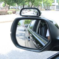 TSV 2PCS 360 Wide Angle Side Rear Mirrors Blind Spot Snap Way Car Rear View Mirror