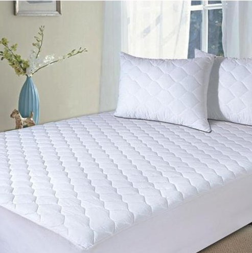 Mattress Pads, Quilted Mattress topper-Hypoallergenic Waterproof Protector (King, Size)