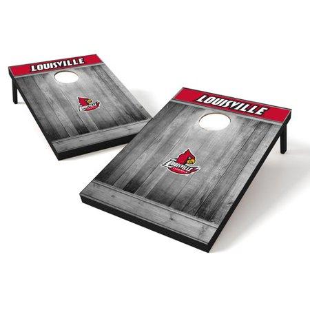Louisville Cardinals Coin - Tailgate Toss Wood College Louisville Cardinals