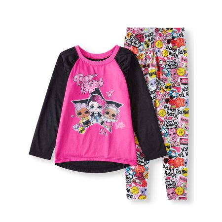 L.O.L. Surprise! Girl's 2-Piece Pajama Sleep Set (Little Girls & Big Girls) ()