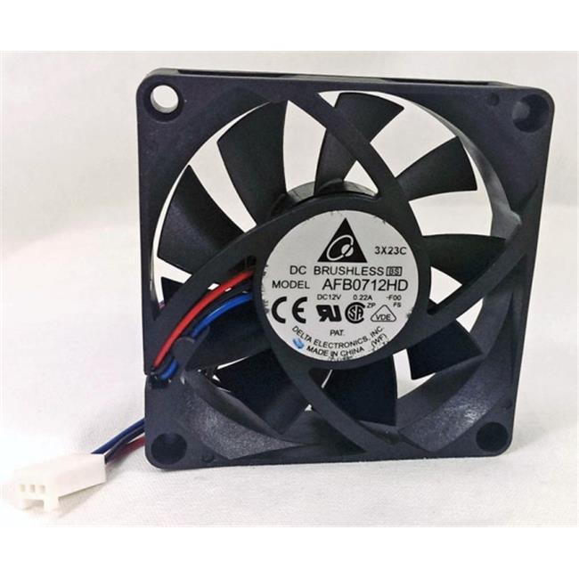 Delta 23-7020-01 70 x 70 x 20 mm. Ball Bearing Cooling Fan
