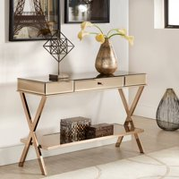 Product Image Whole Interios Chelsea Lane Paige Mirror Sofa Table Multiple Finishes
