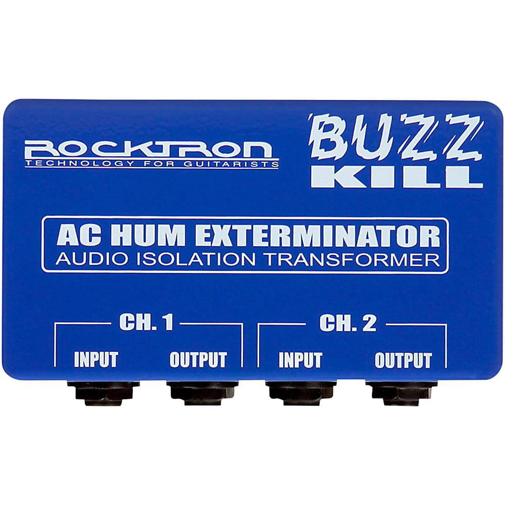 Rocktron Buzz Kill AC Hum Eliminator Guitar Effects Pedal by Rocktron