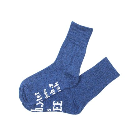 MAXSUN Women Letter Printed Pattern Cotton Blend Knit Funny Sports Socks