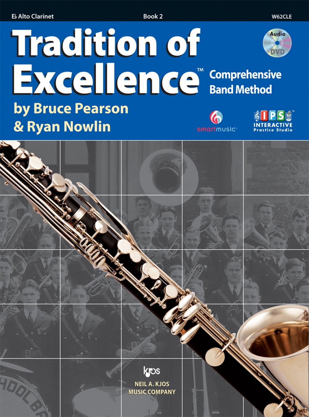 KJOS Tradition Of Excellence Book 2 for Alto Clarinet by