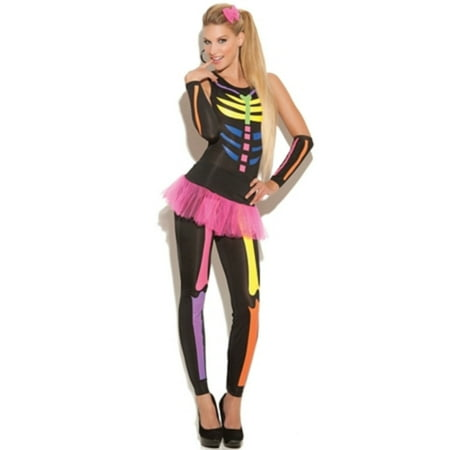 - Black/Multi Scary Bones Costume Elegant Moments 9937 Black/Multi