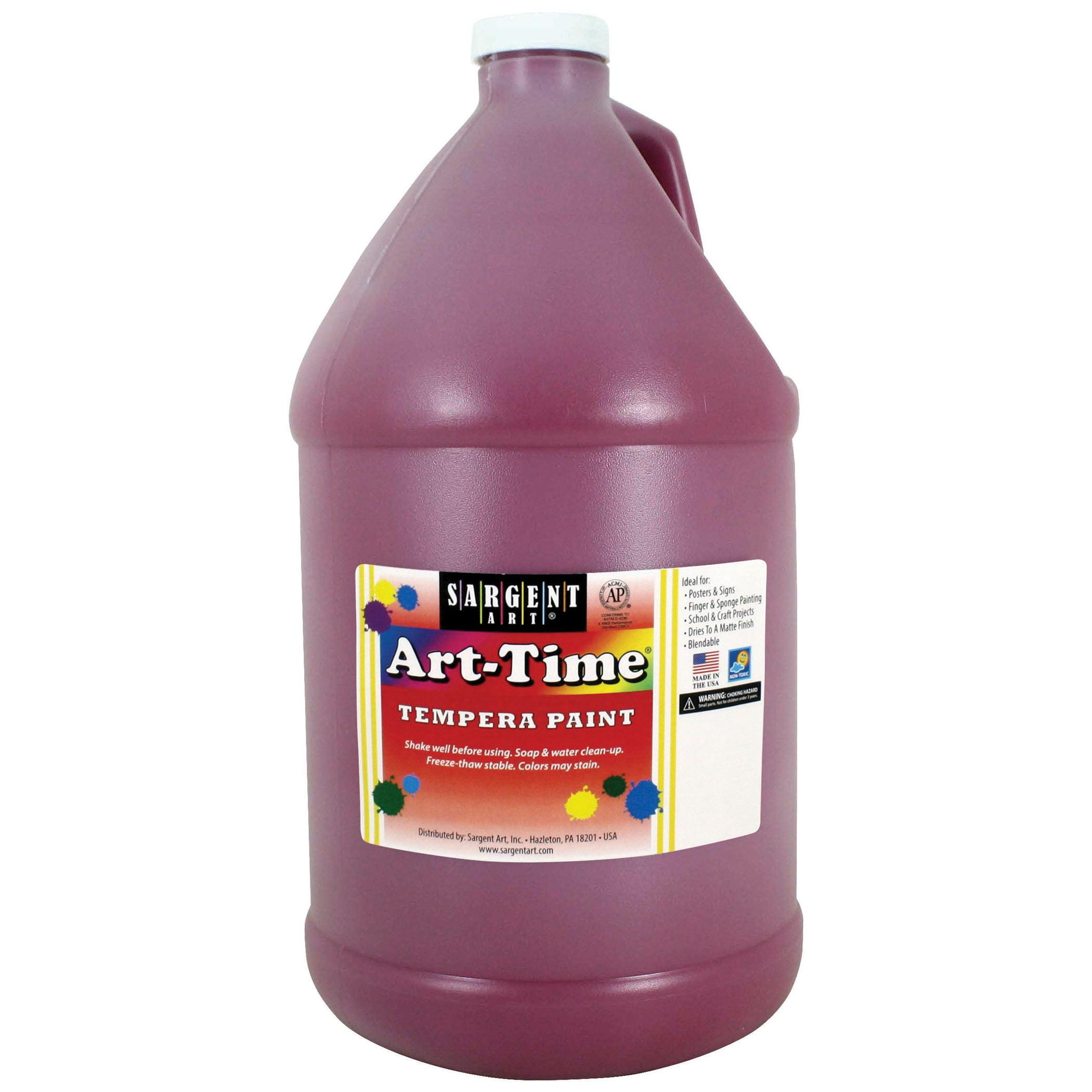 Art-Time® Tempera Paint, Magenta - Gallon