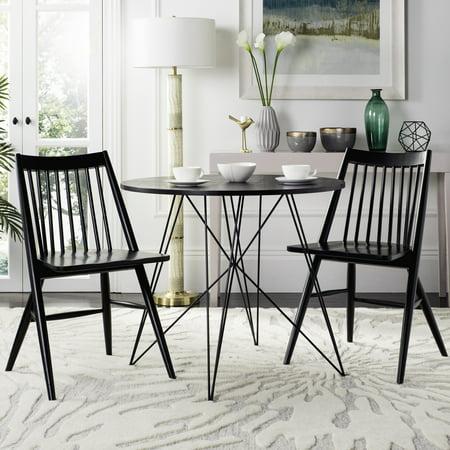 safavieh wren 19 high spindled dining chair set of 2 multiple colors. Black Bedroom Furniture Sets. Home Design Ideas