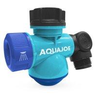 Aqua Joe SJI-MFGA1 Multi-Function Outdoor Faucet and Garden Hose Tap Connector