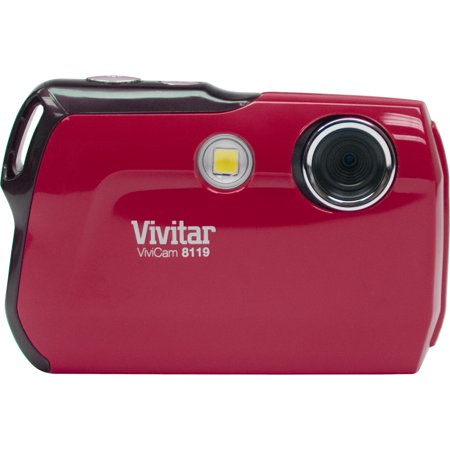 Vivitar ViviCam 8119 Digital Camera (Red)