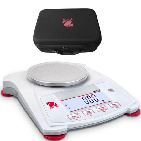 Ohaus Scout SPX422 Portable Balance 420 x 0 01g With Carrying Case