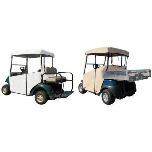 """3-Sided Fitted """"Over-The-Top"""" Golf Cart Cover, Club Car DS 2000+"""