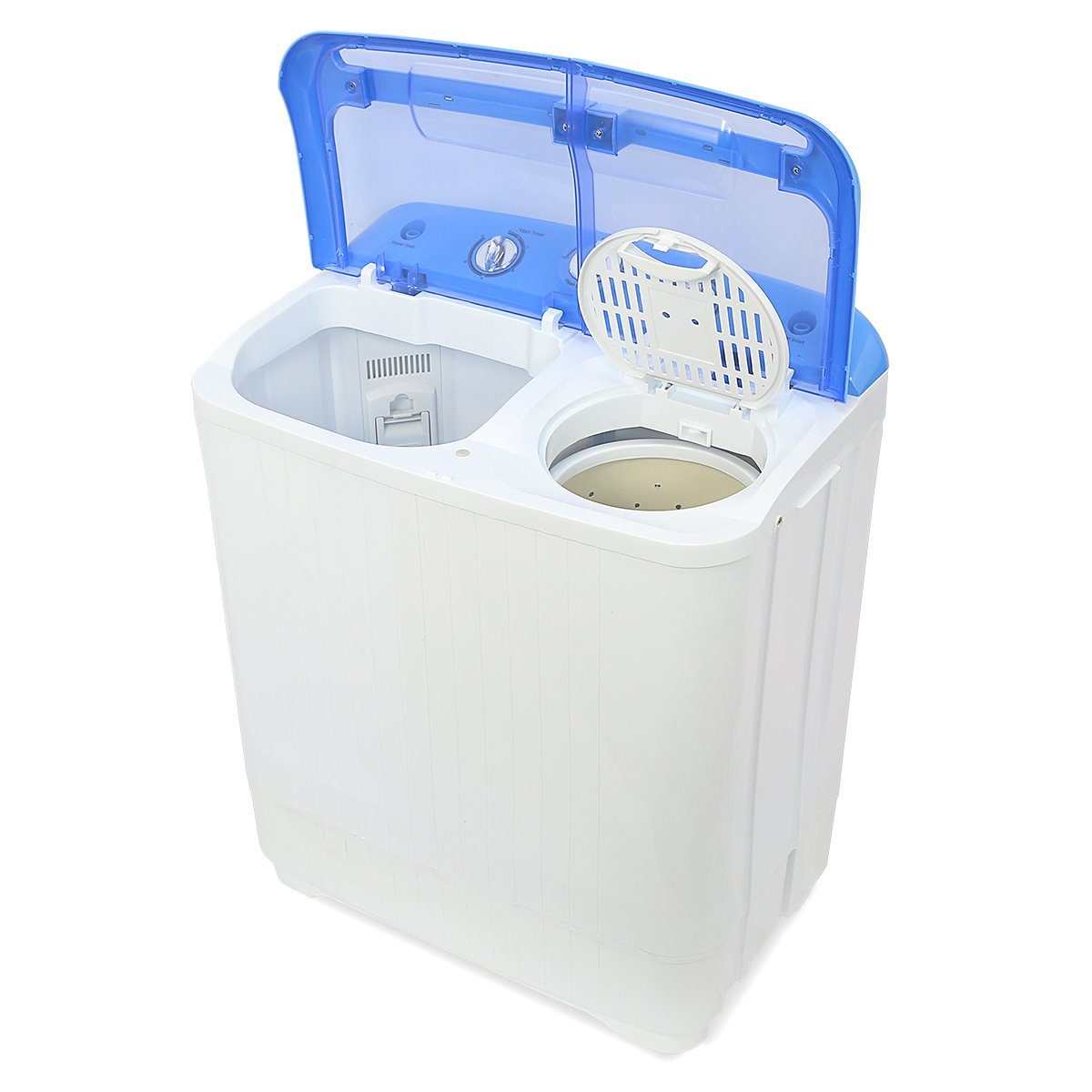 8lb electric mini washer & spin dryer portable compact laundry combo