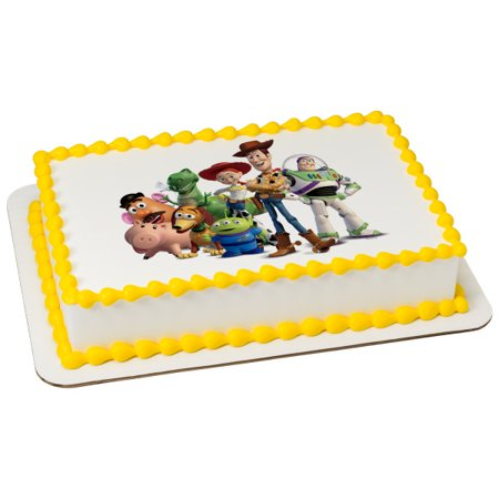 Toy Story ( 4 ) Edible Cake Topper Image Party 1/4 Sheet (Toy Story Edible Images)