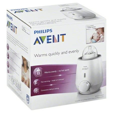 - Philips Avent Fast Bottle Warmer, BPA-Free