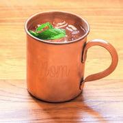 Mom's Moscow Mule Copper Mug w/ Polishing Cloth 'Mom' Moscow Mule Copper Mug with Polishing Cloth