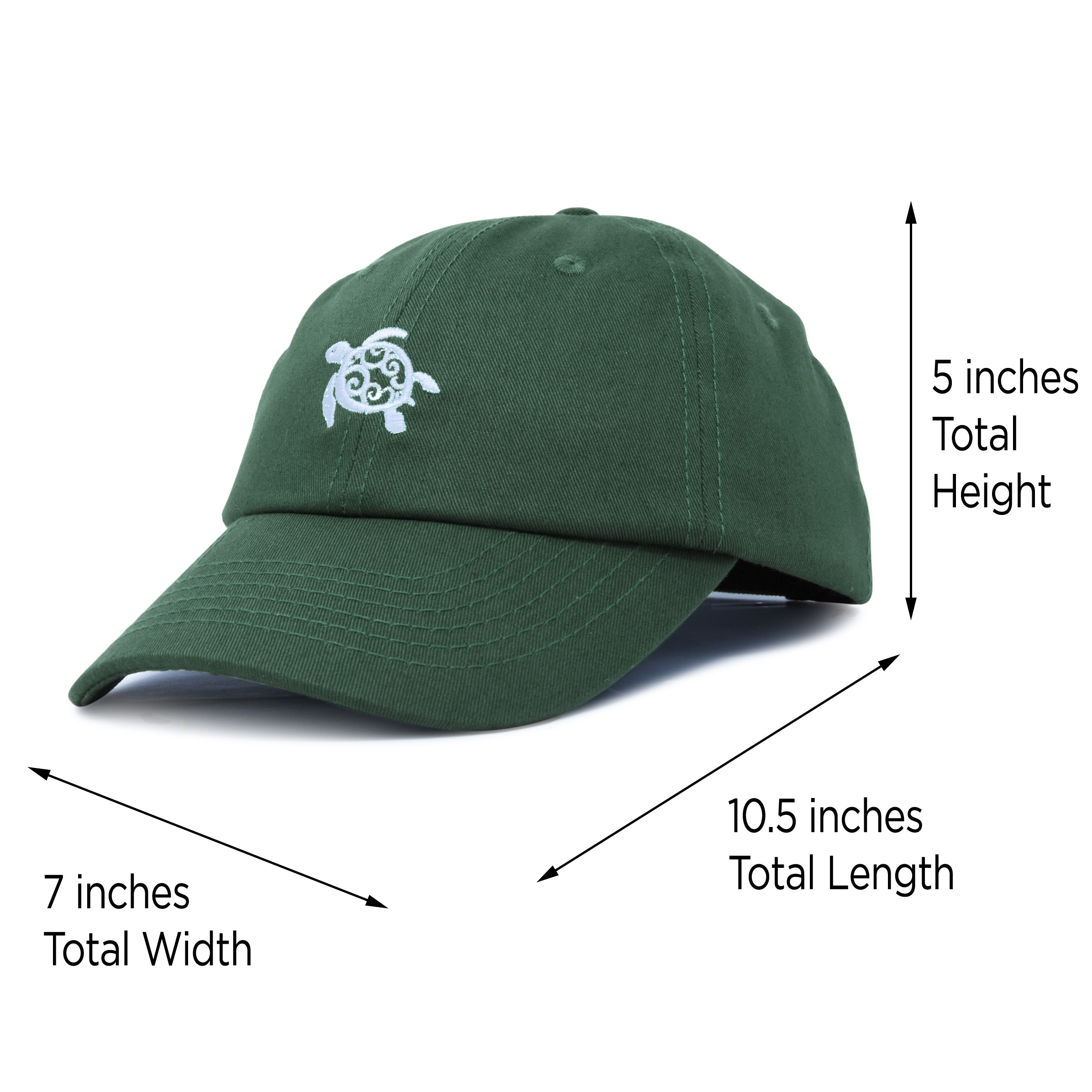 I Love Sea Turtles Trucker Hat Adjustable Outdoors